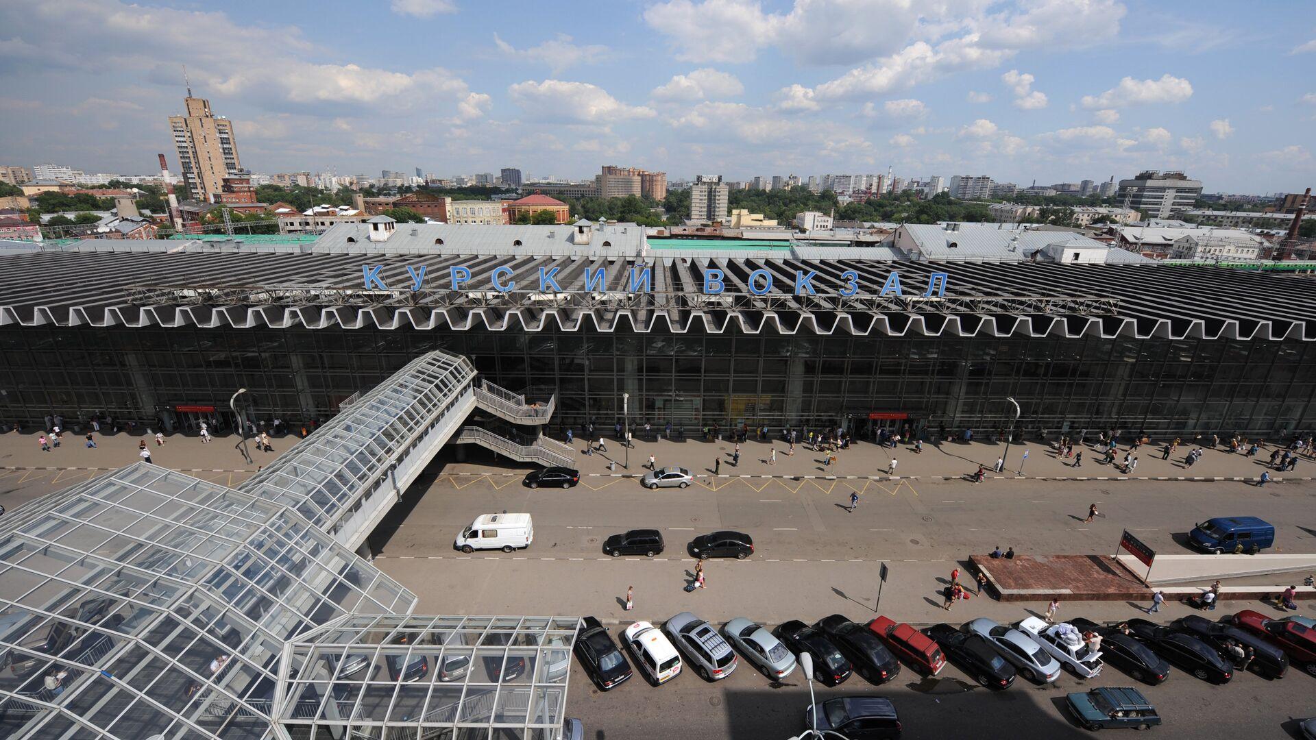 Курский вокзал в Москве - РИА Новости, 1920, 05.08.2021