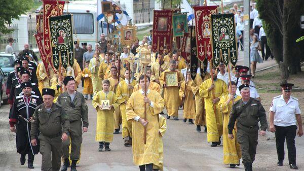 Крестный ход в честь годовщины Крещения Руси