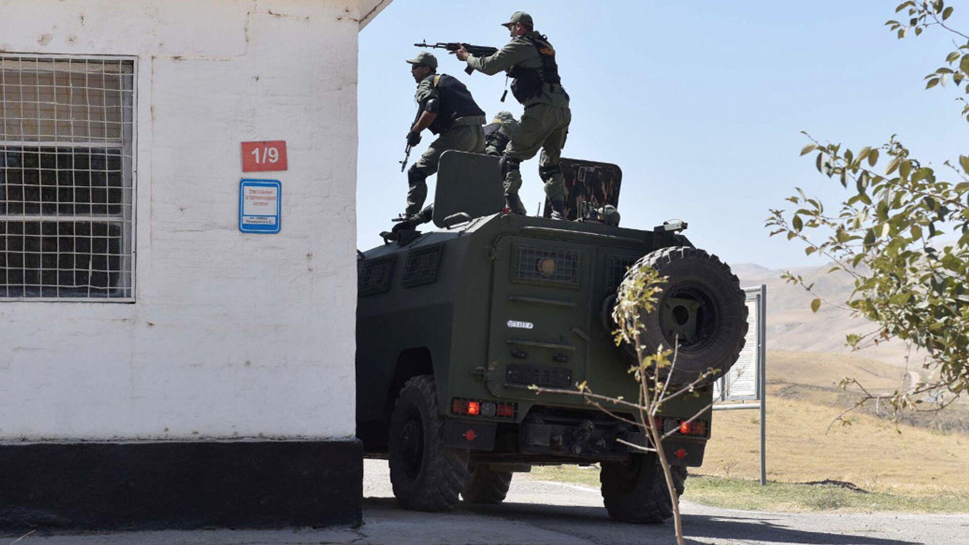 Спецназ Таджикистана во время учений на 201-й российской военной базе - РИА Новости, 1920, 28.07.2021