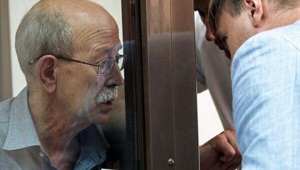 Сотрудник ЦНИИмаш Виктор Кудрявцев в суде. Архивное фото