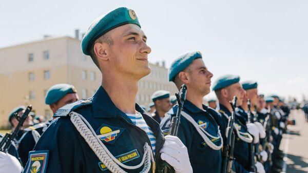 Празднование Дня ВДВ в регионах России