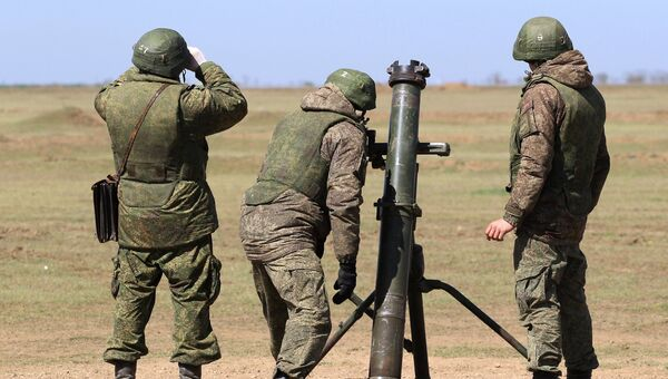 Конкурс Мастера артиллерийского огня-2018. Архивное фото