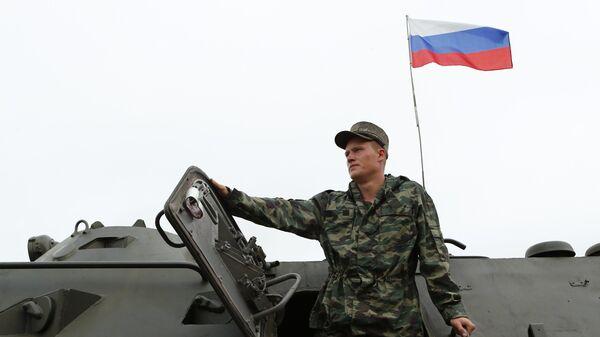 Военнослужащий России
