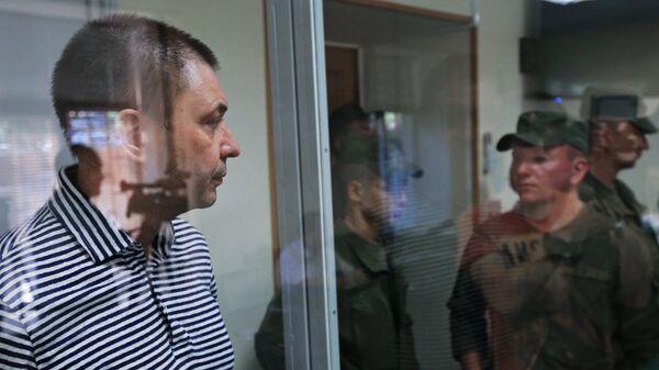 Кирилл Вышинский в зале апелляционного суда Херсонской области Украины. Архивное фото