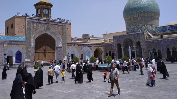 Мечеть Шах Абдул-Азим в городе Рей в пригороде Тегерана