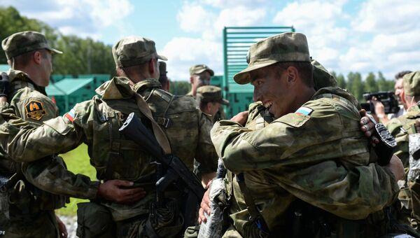 IV Армейские международные игры в Новосибирской области