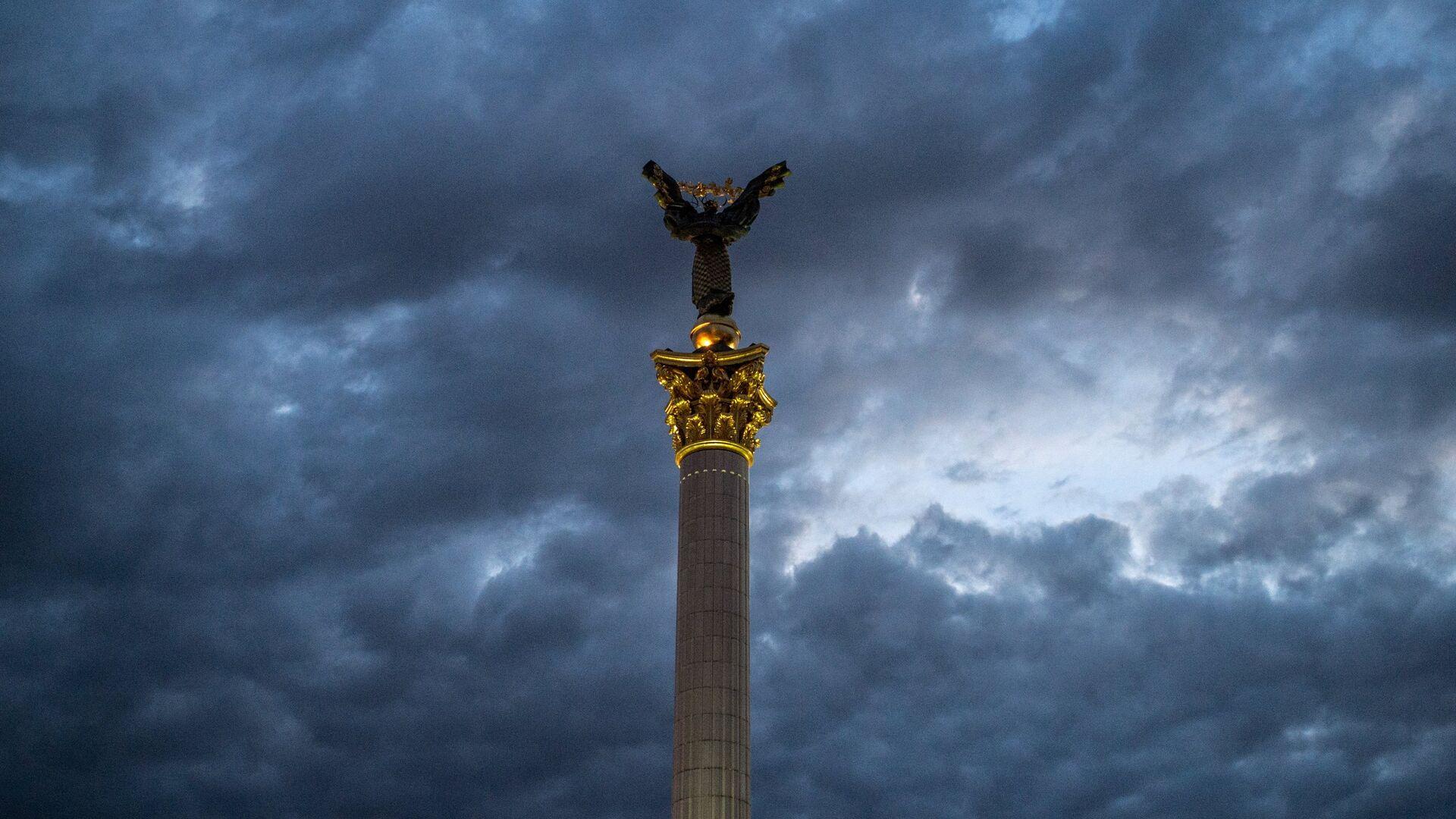 Монумент Независимости Украины в Киеве - РИА Новости, 1920, 13.07.2021