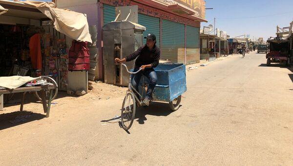 В лагере сирийских беженцев Заатари. Архивное фото