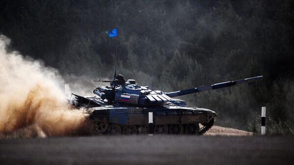 Танковый биатлон. Архивное фото