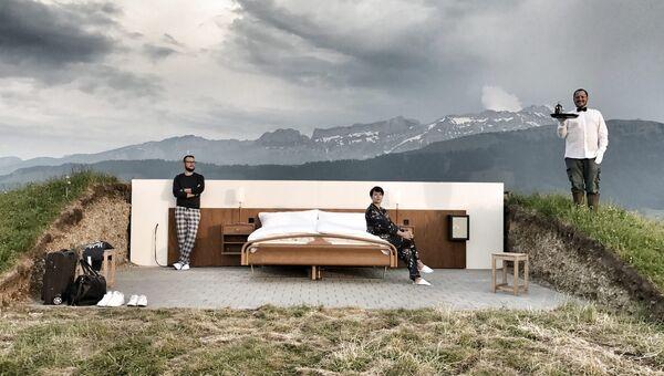 Постояльцы отеля Null Stern в Швейцарии