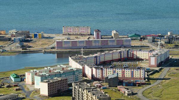 Новые многоквартирные дома, построенные по программе Комплексное развитие моногородов, в городе Певек
