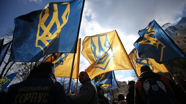 Украинские активисты. Архивное фото