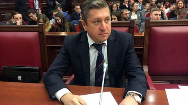 Руководитель аппарата уполномоченного по правам человека Иван Соловьев
