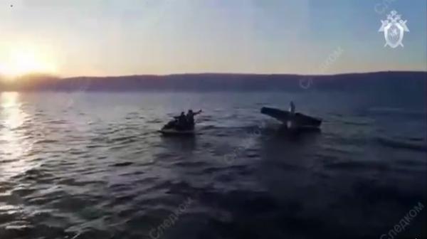 Падение гидросамолета  Твин Би 2335G в озеро Байкал