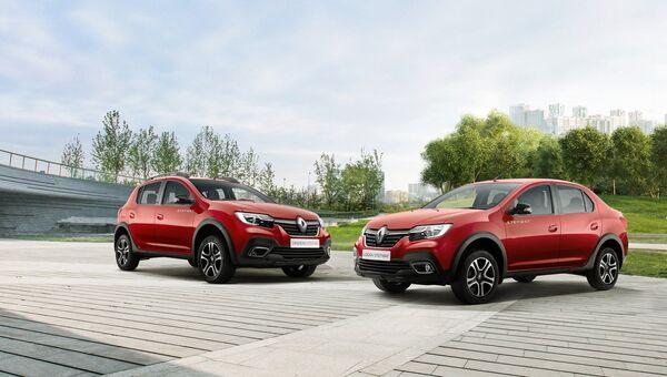 Внедорожные версии Renault Sandero и Renault Logan