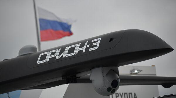 Беспилотный летательный аппарат Орион-Э на форуме Армия-2018 в Кубинке