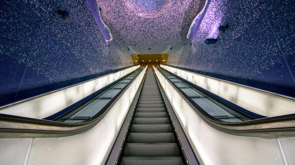 Станция метро Толедо в Неаполе, Италия