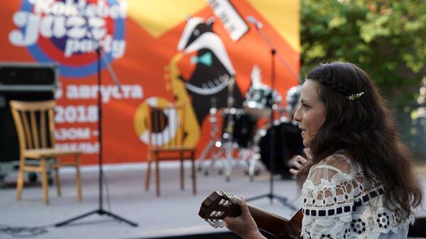 Подготовка к открытию музыкального фестиваля Koktebel Jazz Party 2018
