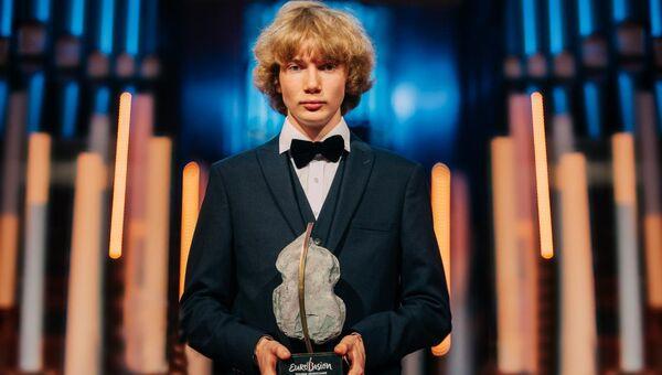 Победитель конкурса молодых музыкантов Eurovision Young Musicians Иван Бессонов