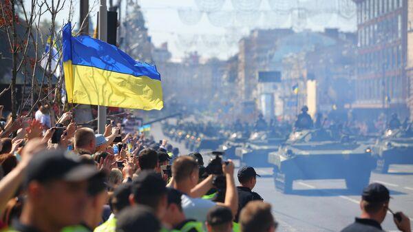Военный парад в Киеве по случаю Дня независимости Украины