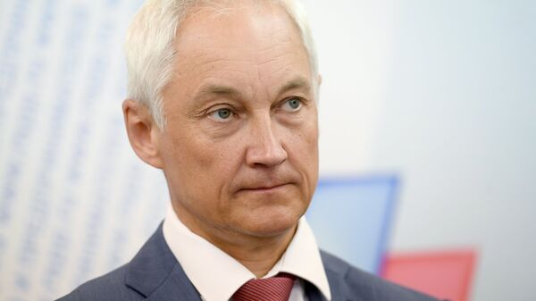 Помощник президента РФ Андрей Белоусов. Архивное фото