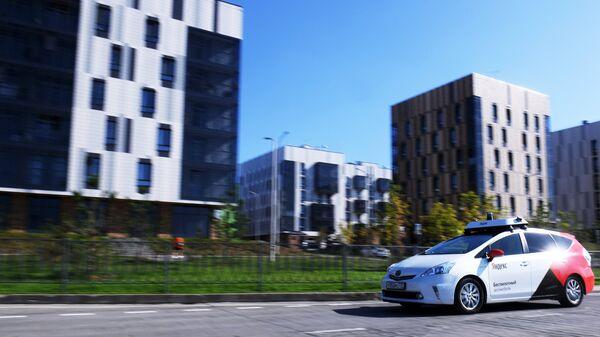 Первое в Европе беспилотное такси в Иннополисе