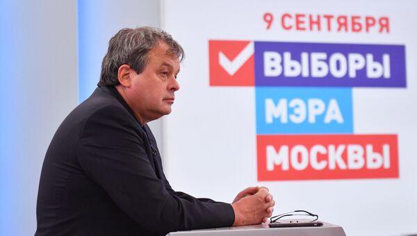 Депутат Мосгордумы, кандидат в мэры Москвы Михаил Балакин. Архивное фото