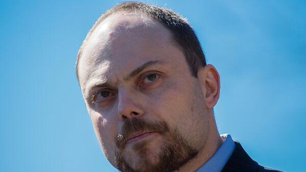 Российский журналист, общественный деятель Владимир Кара-Мурза