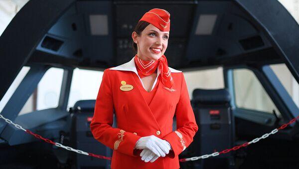 Инструктор-проводник авиакомпании Аэрофлот. Архивное фото