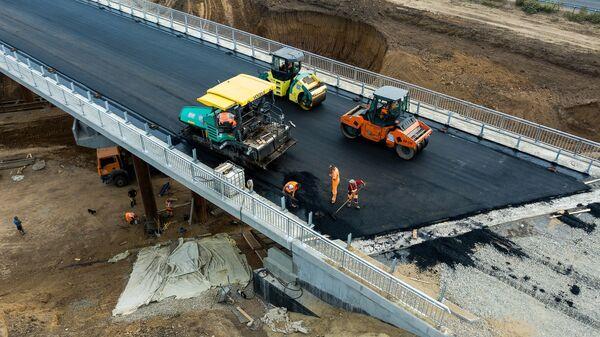 Строительство автомобильных дорог в Краснодарском крае