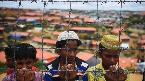 Беженцы рохинджа. Архивное фото
