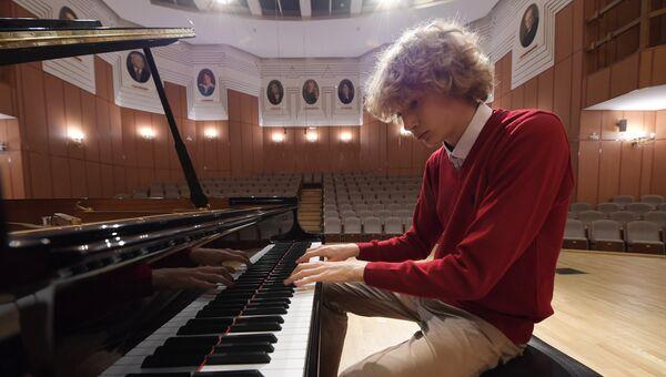 Российский пианист Иван Бессонов. Архивное фото