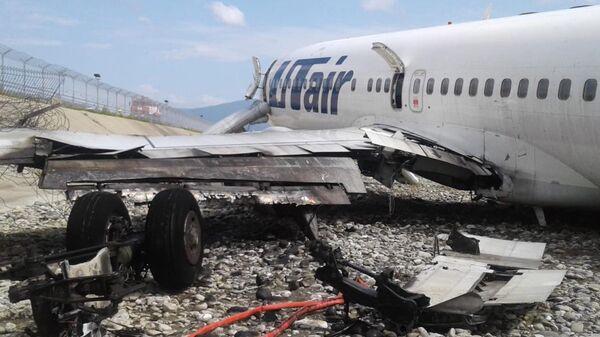 Самолет Boeing 737-800 авиакомпаниии Utair, рейса Москва - Сочи, совершил аварийную посадку в Сочи. Архивное фото