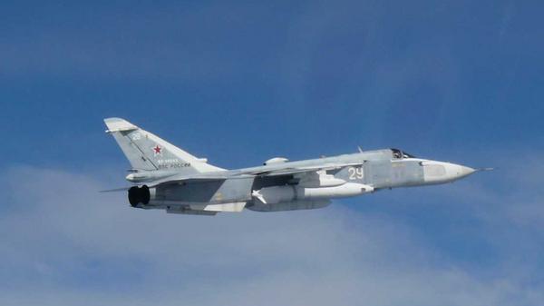 Тактический фронтовой бомбардировщик Су-24