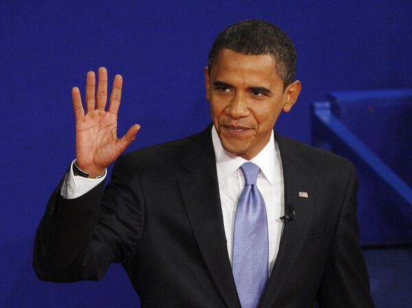 Кандидат в президенты США Барак Обама. Архив