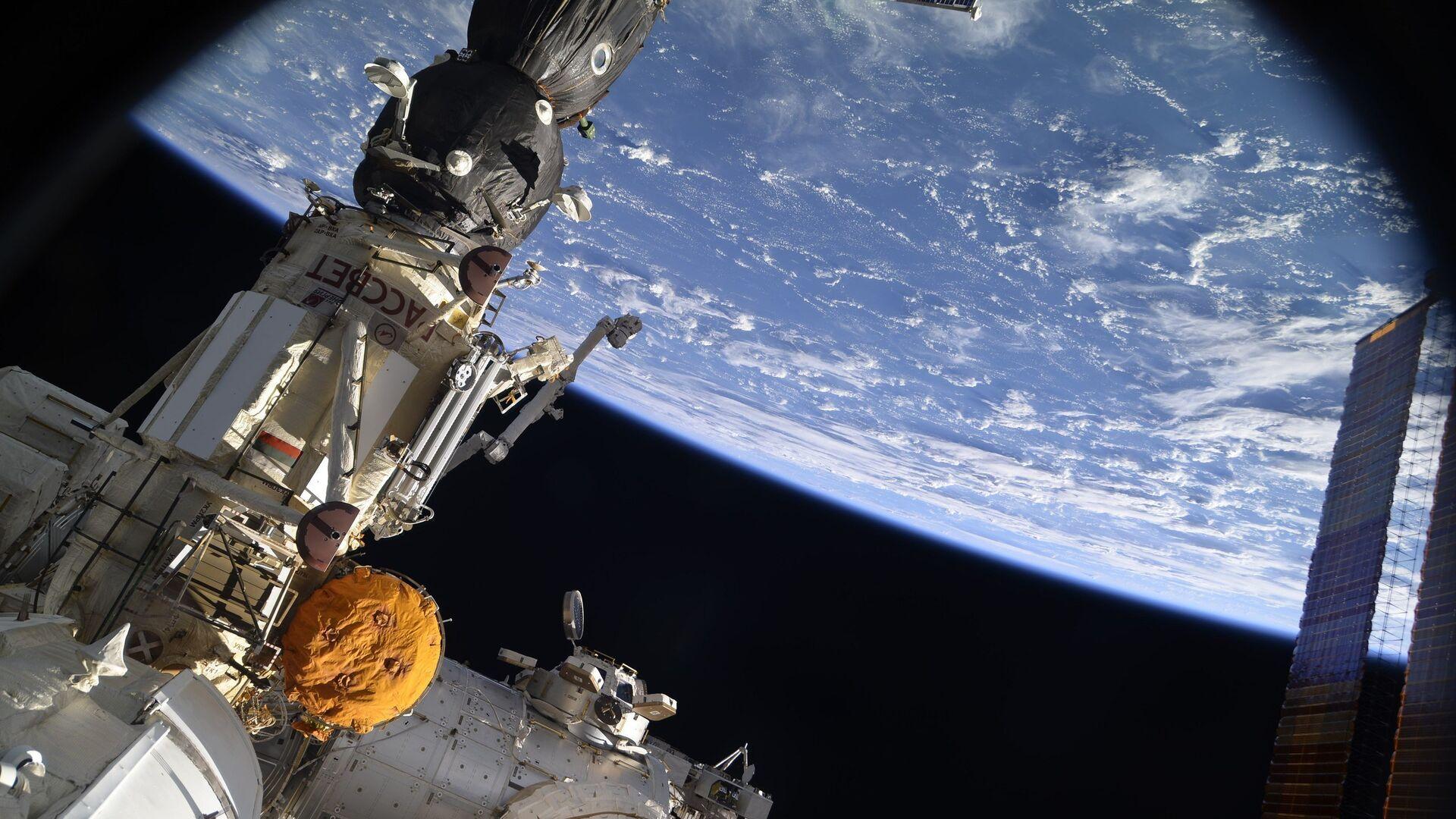 Вид на Землю с борта Международной космической станции - РИА Новости, 1920, 09.10.2021
