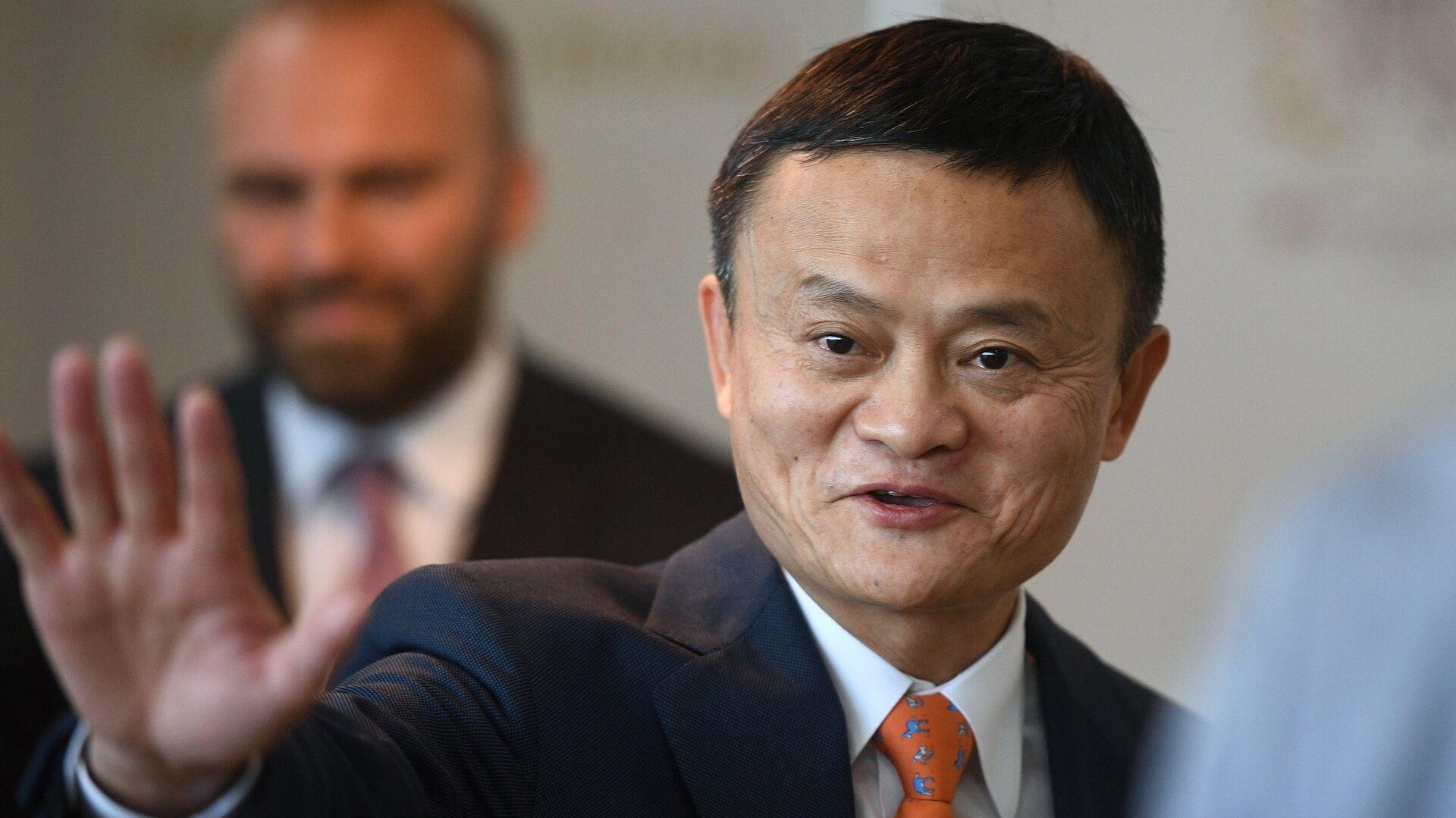 Основатель Alibaba Джек Ма на IV Восточном экономическом форуме - РИА Новости, 1920, 20.10.2020