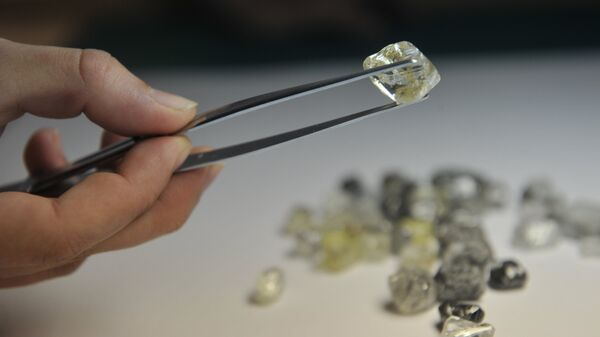 Центр сортировки алмазов акционерной компании Алроса в городе Мирный Республики Саха