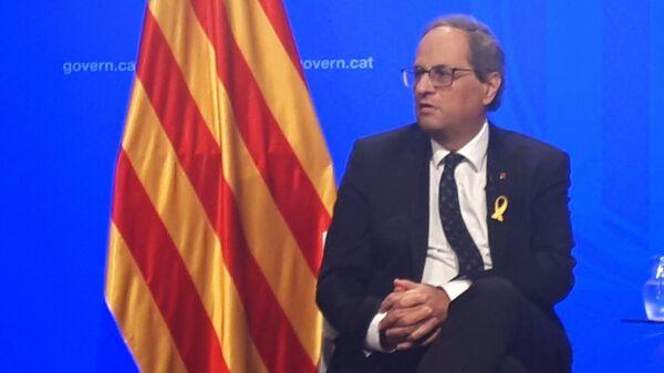 Председатель каталонского женералитета Ким Торра. Архивное фото