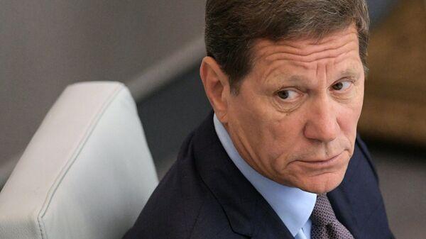 Первый заместитель председателя Государственной Думы РФ Александр Жуков
