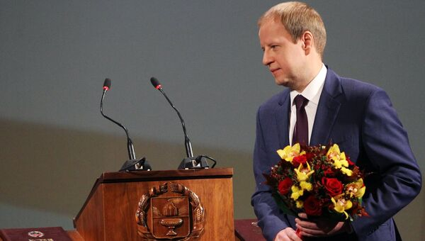 Губернатор Алтайского края Виктор Томенко. Архивное фото