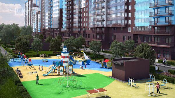 Жилой комплекс комфорт-класса Чистое небо от Setl City в Приморском районе