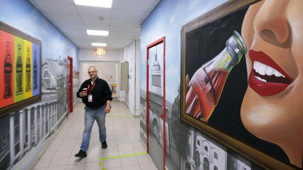 Завод Coca-Cola в Санкт-Петербурге