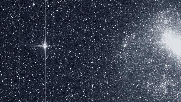 Первая научная фотография, полученная телескопом TESS