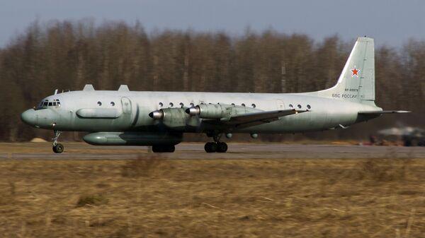 Самолет радиоэлектронной разведки Ил-20