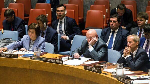 Постоянный представитель России при Организации Объединенных Наций Василий Небензя
