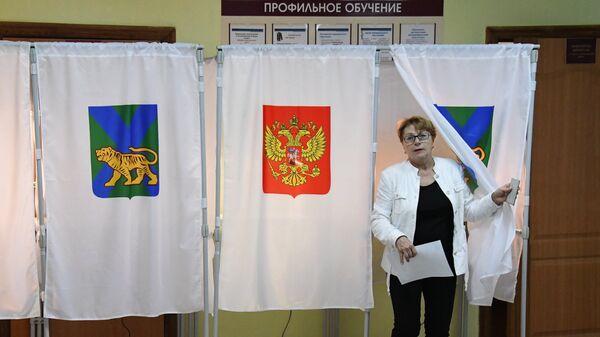 Выборы губернатора Приморского края. Архивное фото