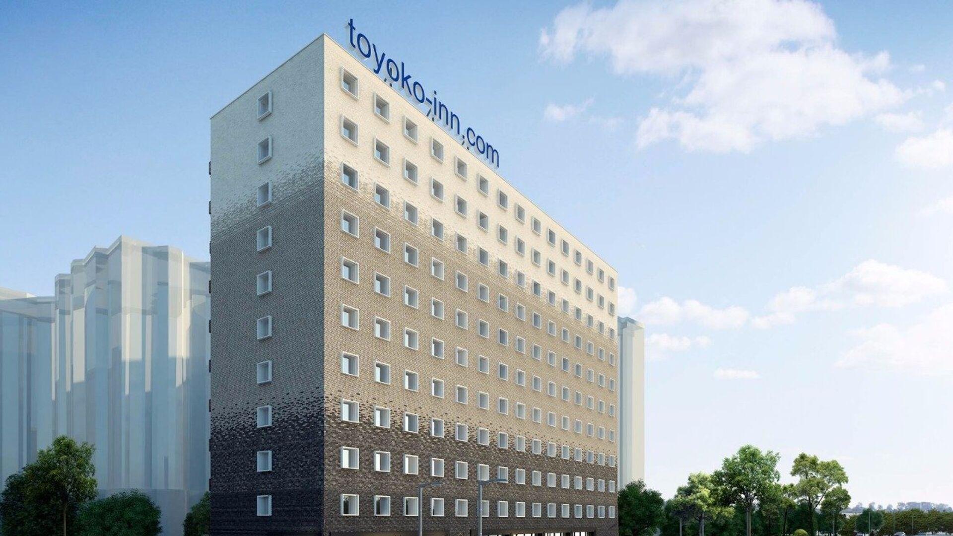 Проект гостиницы Toyoko Inn в 1-м Красносельском переулке в центре Москвы - РИА Новости, 1920, 13.08.2021