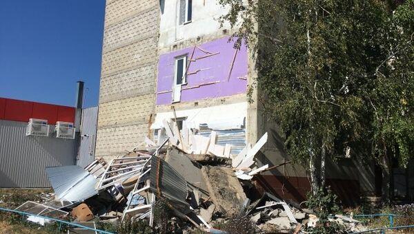 Обрушение балконных плит жилого панельного дома в селе Красносвободное Тамбовской области. 22 сентября 2018