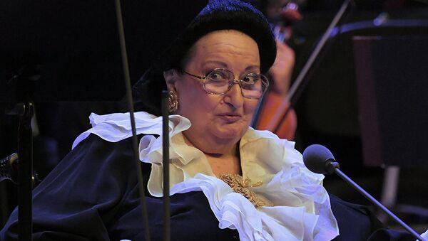 Оперная певица Монсеррат Кабалье на концерте в Государственном Кремлевском дворце в Москве. Архивное фото